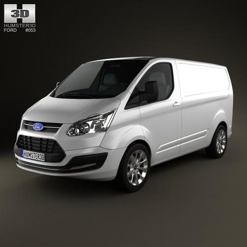 Ford Transit Custom SWB 20123D model