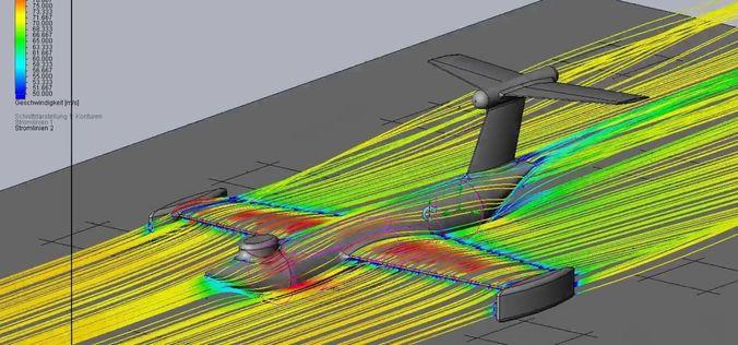 basic ekranoplan inspired ground effect plane 3d model obj mtl 3ds stl sldprt sldasm slddrw 1