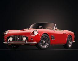 Ferrari 250 GT California Spyder LWB 1962 3D