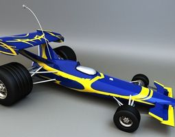 RC F1 3D Model