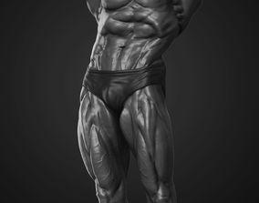3D Arnold Schwarzenegger Mr Olympia