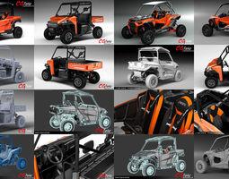 Polaris ATV Collection 2018 RZR General Ranger 3D model