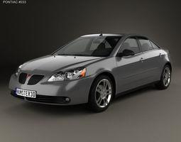 3D Pontiac G6 V6 2006