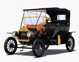3D model T Touring 1919