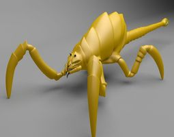 Creature IDA Base Mesh 3D Model