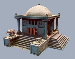 3D model India Temple