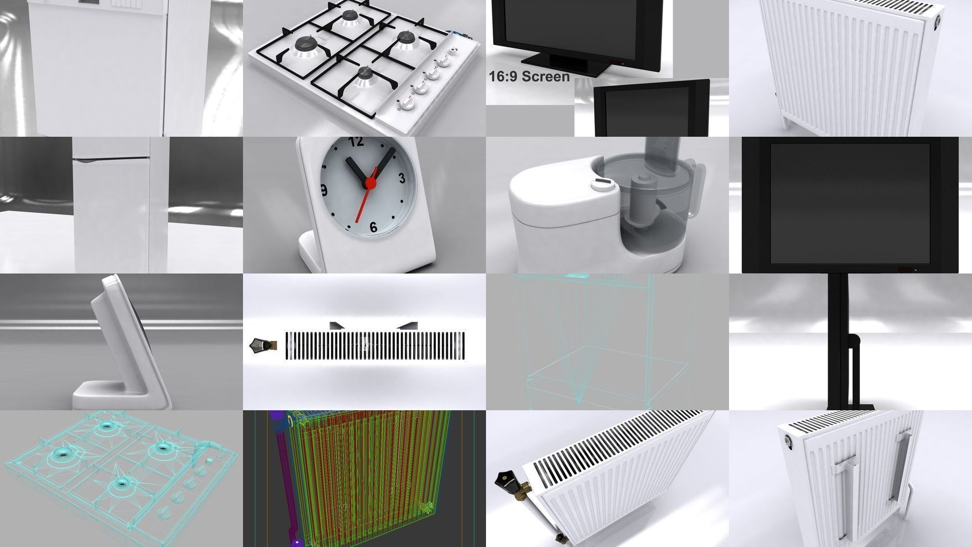 Kitchen Household Appliances | 3D Model Collection