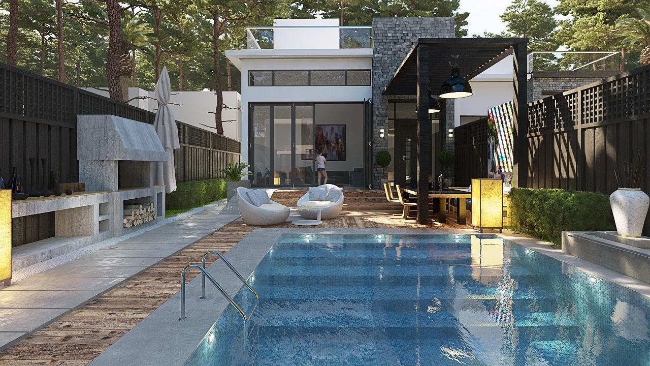 Private dual Villa