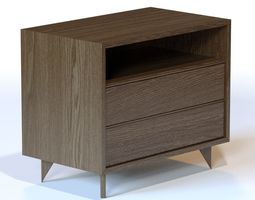 Wud Furniture Design Henry End Table 3D model