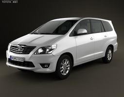 Toyota Innova 2011 3D Model