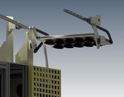 Pick And Place Mechanism 3D