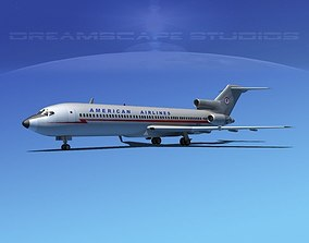 Boeing 727-200 American Airlines 1 3D
