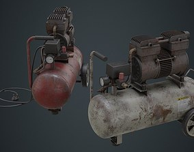 Air Compressor 3B 3D asset