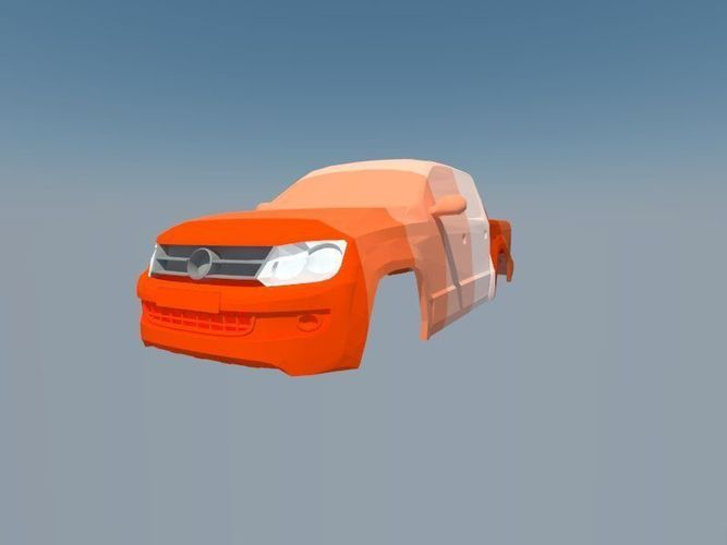 volkswagen amarok 2010 3d model stl 1
