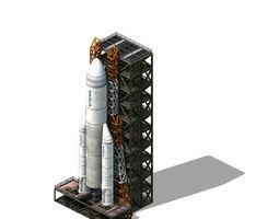 Future World - Rocket Launcher 02 3D
