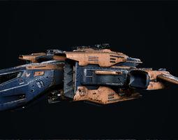 3D model Spaceship A91