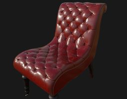 Sofa Chair 3D model room