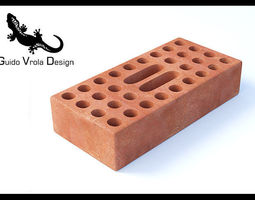 High Quality Perforated Brick 3D