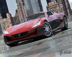 Rimac Concept One 2 0 3D