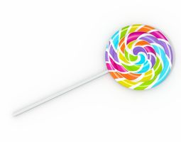 3D LolliPop food