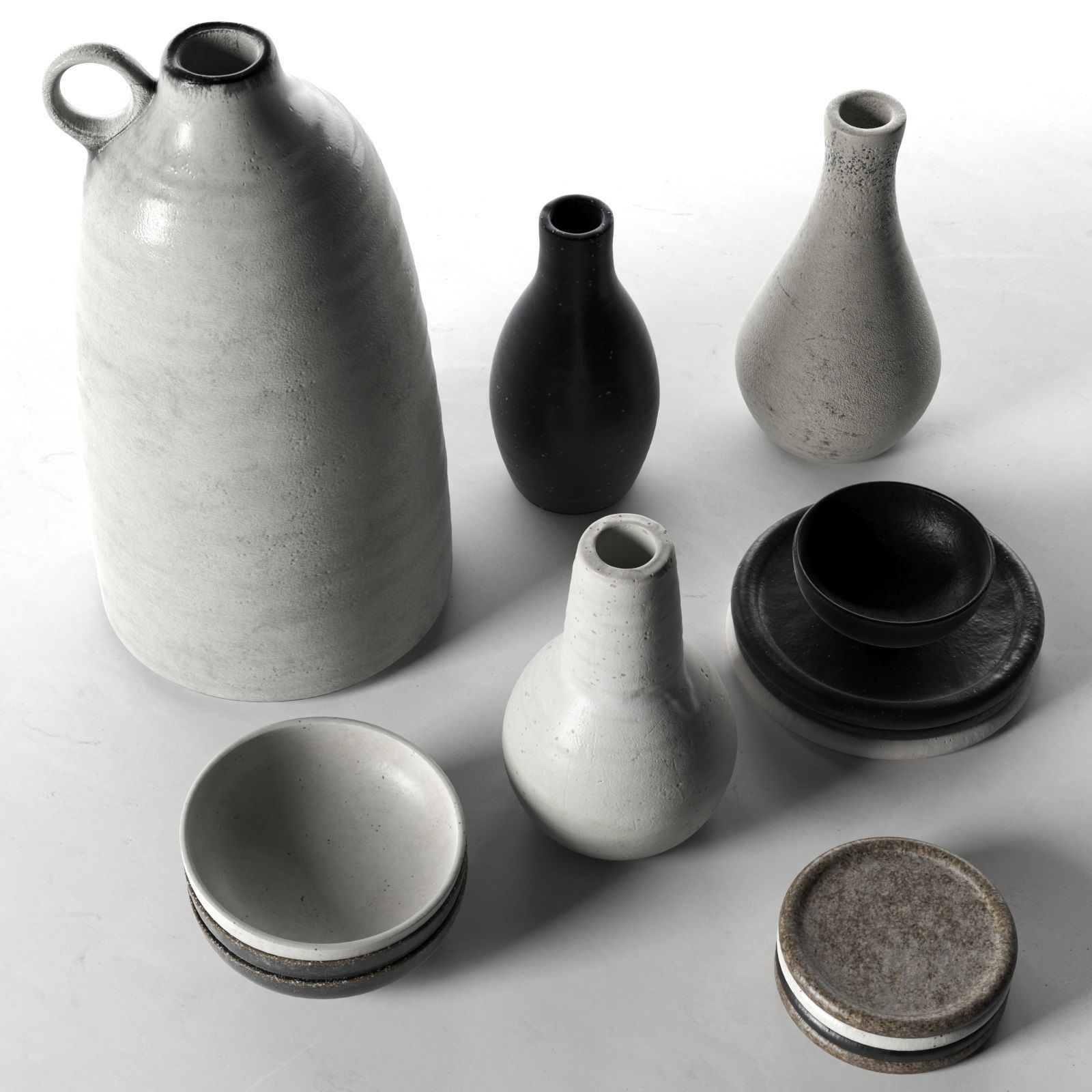 Vases Bowls and Plates
