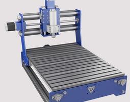 3D model CNC Router Machine