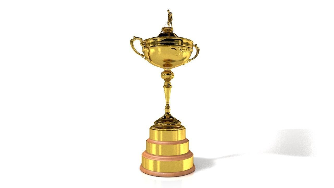 Trophy of the Ryder Cup Golf Cup
