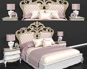 Renk Bed 3D asset