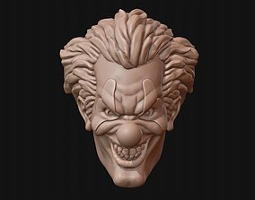 042895d7219 Clown head 3D print model