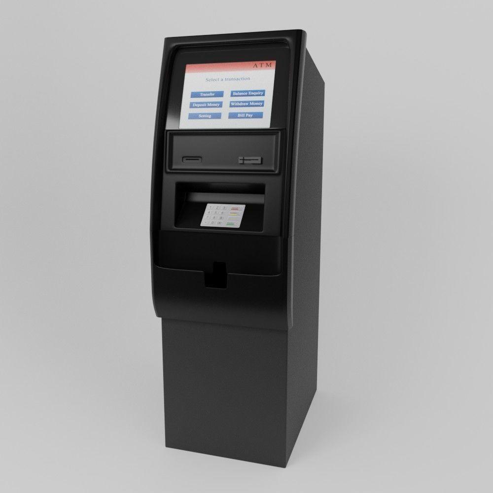 ATM Machine 3D | CGTrader
