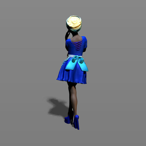 pretty-woman-part-6-3d-model-obj-fbx-stl
