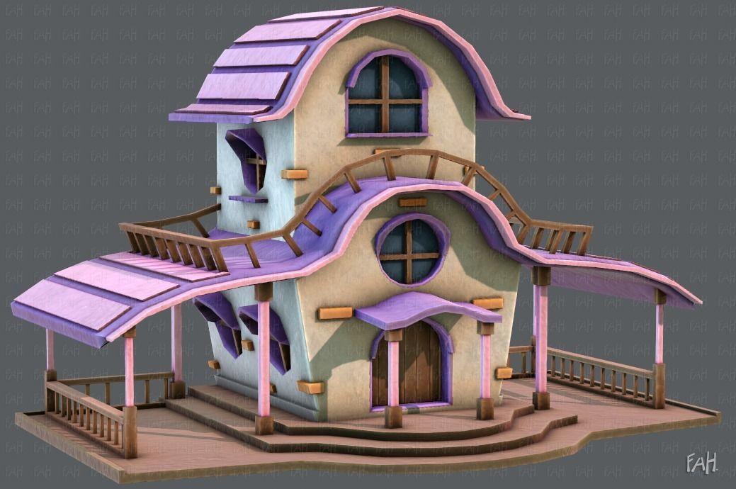 House Cartoon V01