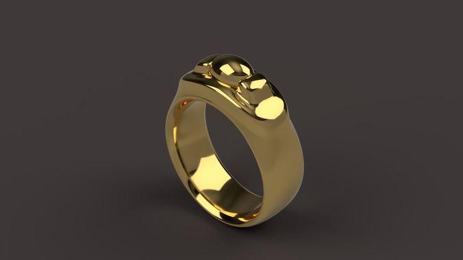 storyteller ring 3d model stl 1
