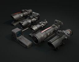 scope pack 3D asset