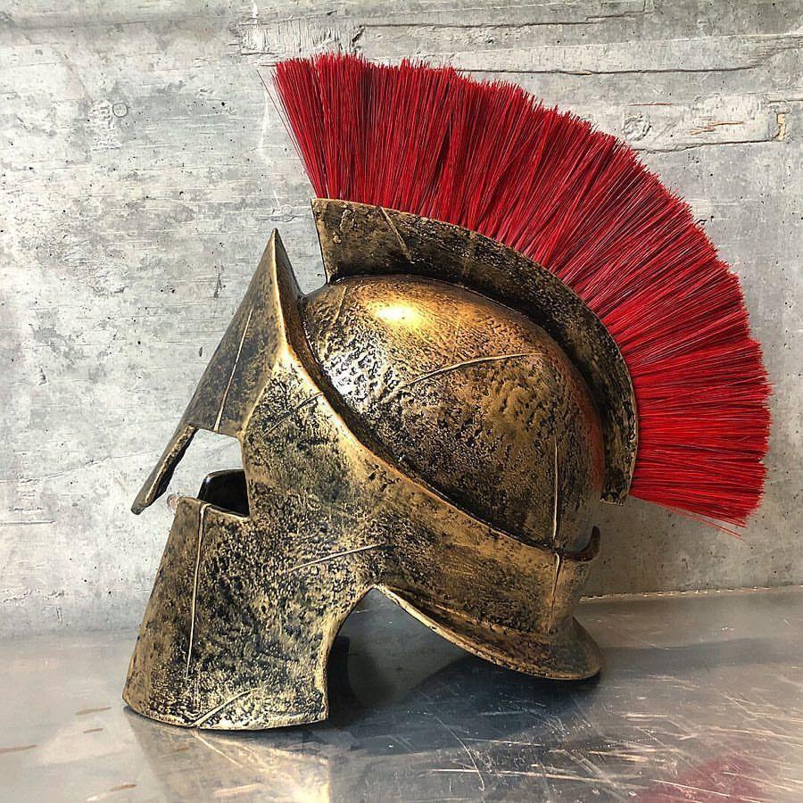 300 spartan helmet replica 3D print model | CGTrader