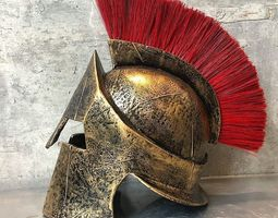 300 spartan helmet replica 3D print model