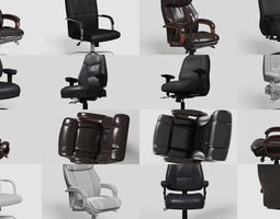 Office Chairs Premium Kit 3D