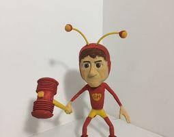 3D print model Chapolim colorado Polegar vermelho