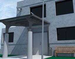 3d model air traffic control tower