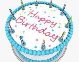 Birthday Cake 1 3D