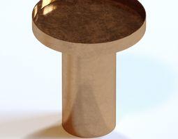 3D model Rivet End Table