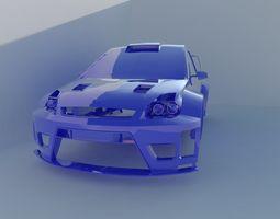 Ford Fiesta WRC 3D print model
