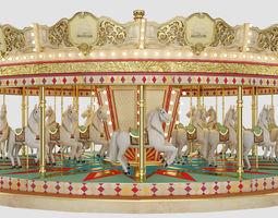 carousel 3D model ride