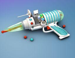 Comic Space Gun Laser 3D model