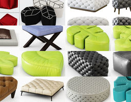 Pouf Collections 30 models