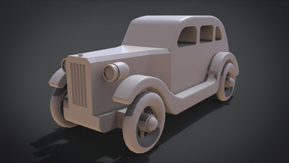 1935 Sedan Toy Car