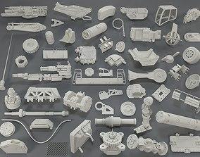 Kit bash - 55 pieces - collection-18 3D