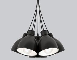 Pendant luminaire EGLO Priddy 49467 3D model