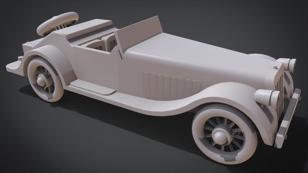 Classic Toy Roadster