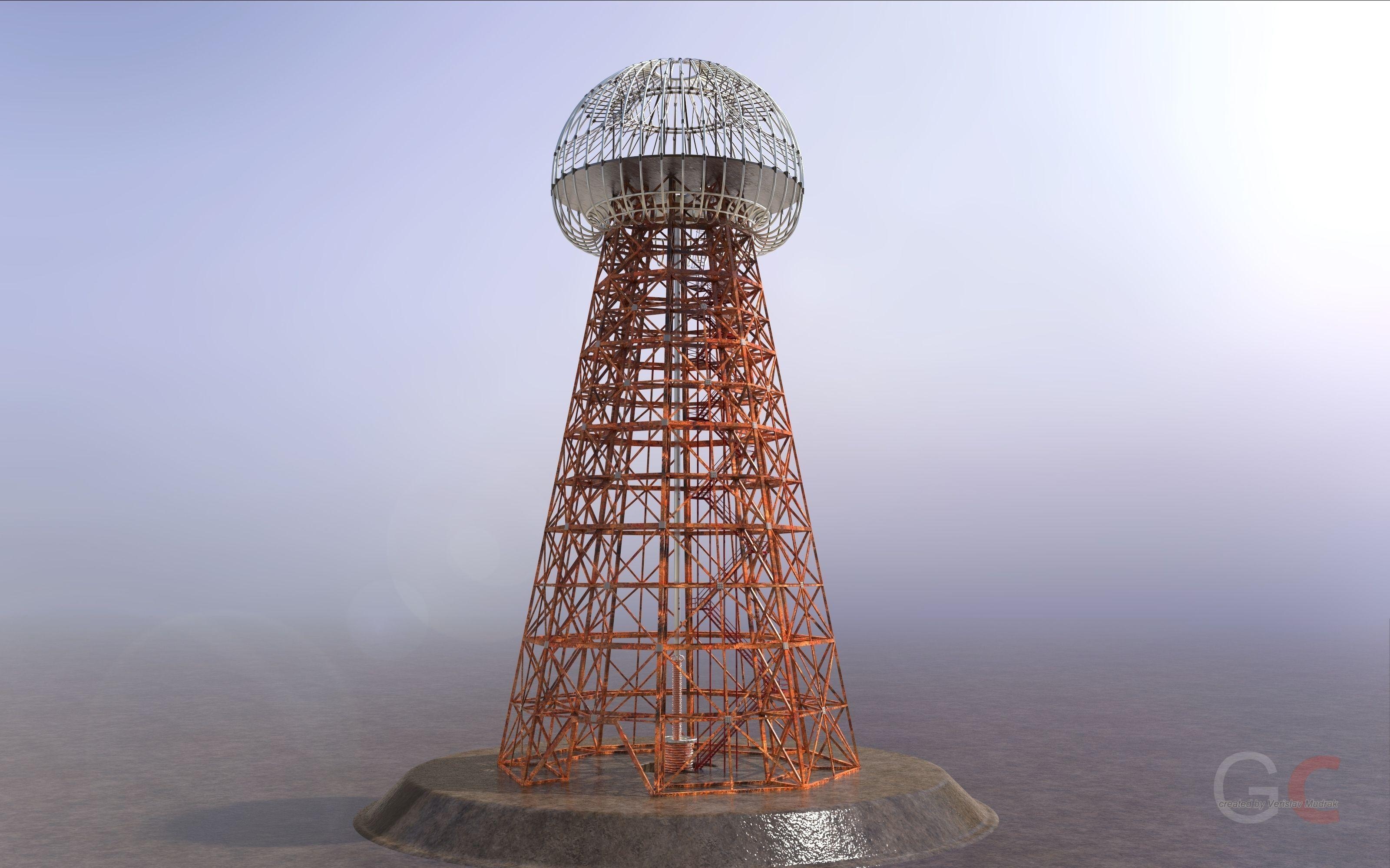 Tesla Tower Free 3d Model Stl Sldprt Sldasm Slddrw